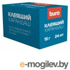 Клей-карандаш Buro 063000400 15гр