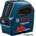 Лазерные дальномеры, уровни, детекторы Bosch GLL 2-10 Лазерный нивелир { 10м, 635 nm, 0.49 кг }  0601063L00