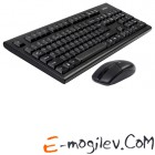 Клавиатура+мышь A4Tech 3100N (черный)