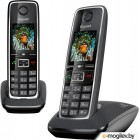 Беспроводной телефон Gigaset C530 Duo (Black)