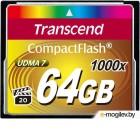 Transcend CF 64Gb  TS64GCF1000 1000X