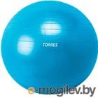 Фитбол с ручкой TORRES 65см AL100165ПВХ синий