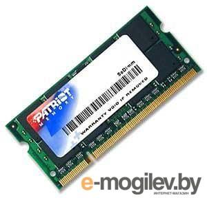 Patriot DDR3-1333 2048 Mb PC-10660 SODIMM