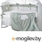 Комплект в кроватку Perina Бамбино ББ4-01.1 (олива)