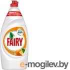 Средство для мытья посуды Fairy Окси Апельсин и лимонник (900мл)
