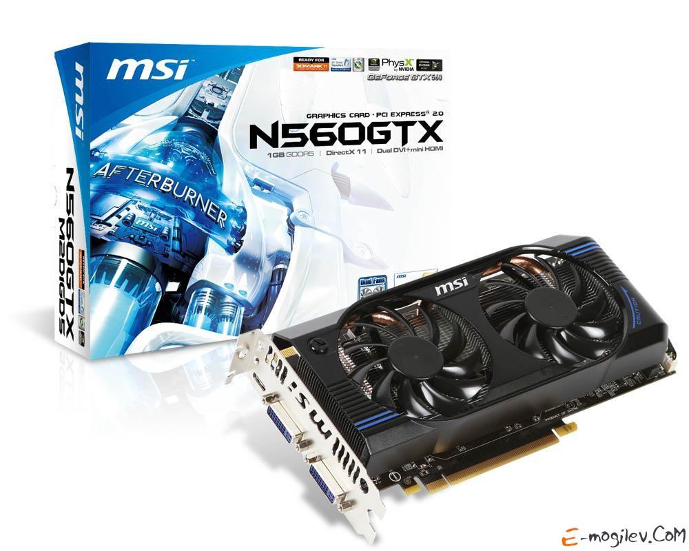 MSI GeForce GTX 560 1Gb DDR5