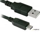Кабель USB 2.0 (AM) -> USB 3.1 (Type-C), 1.0m, Defender USB09-03 (87490)