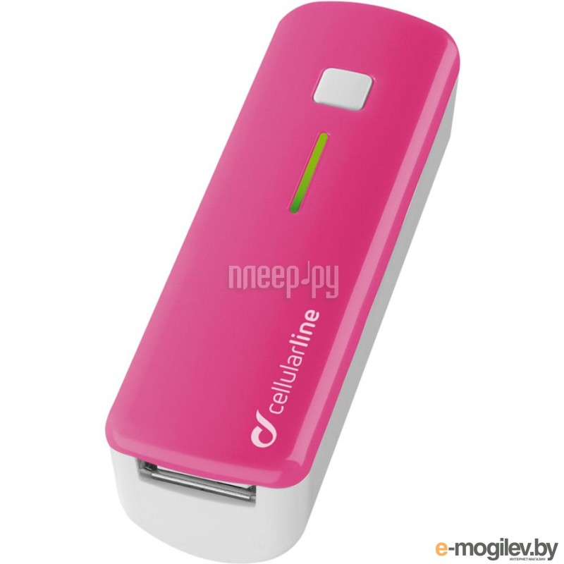 Cellular Line 2200 mAh Pink POCKETCHGSMARTP