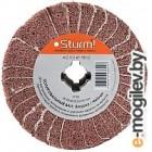 Все для шлифмашин диски Sturm! AG1014P-9812 щетка, нейлон/шкурка P120, 120x19.5x100mm