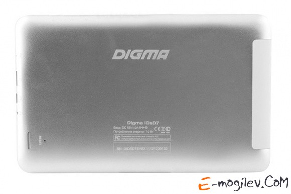 "Digma IDsQ 7 A31s (1.5) 4C A7/RAM1Gb/ROM16Gb/7"" IPS 1280*800/WiFi/5Mp/2Mp/And4.1/silver/white/Touch/microSD 32Gb/mHDMI/minUSB/3000mAh/5hrs/100hrs Quard Core"