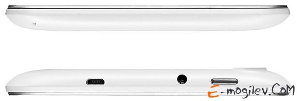 "Lenovo IdeaTab A3000 7"" IPS 59-366212 MediaTek MTK 8317T (1.2GHz)/1Gb/16Gb/microSD/WiFi/BT 4.0/GPS/2 Cam 5Mp+0.3Mp/3500mAh/And 4.2 White"