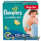 Pampers Active Baby-Dry Maxi Plus 9-16кг 120шт 4015400264972