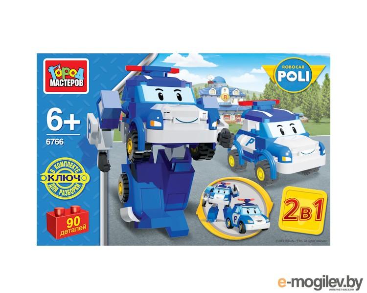 развитие Город Мастеров Робот-Полицейская машина BB-6766-R