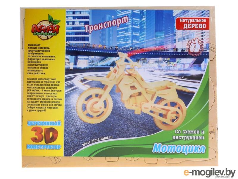 развитие Лесная мастерская Мотоцикл 253015
