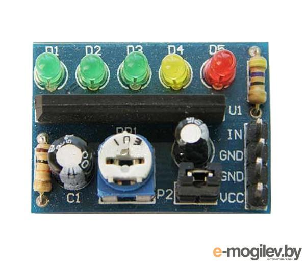 развитие Радио КИТ STR993 RL001 - светодиодный индикатор уровня сигнала