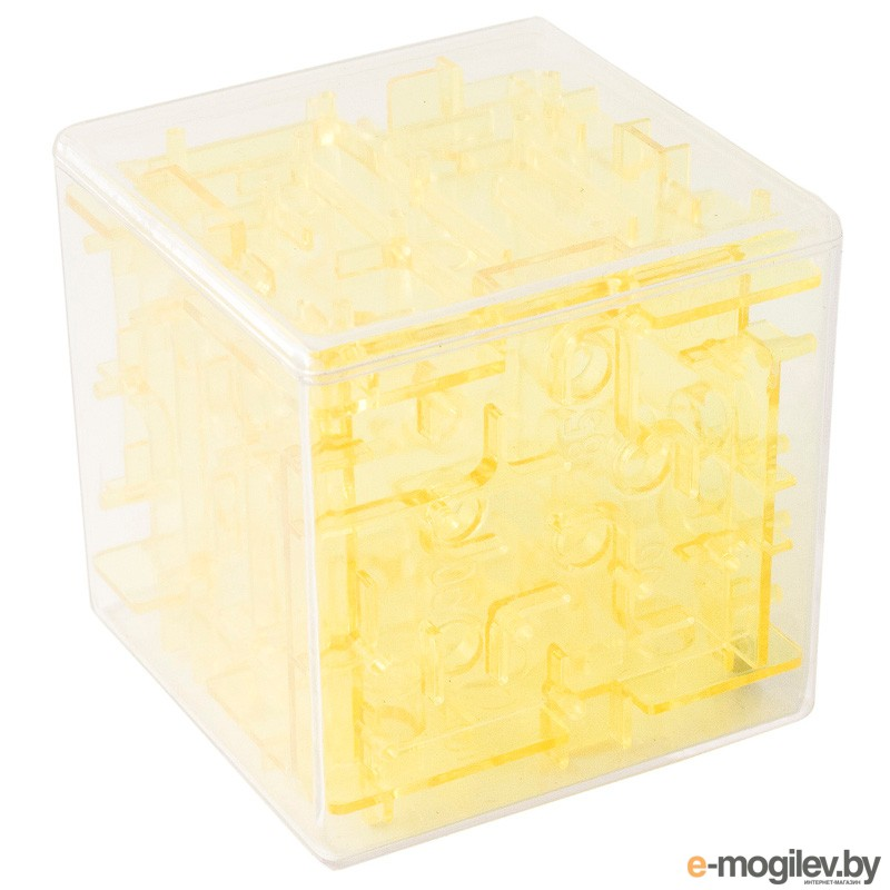 развитие Эврика Головоломка Куб Yellow 97523