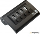 Jet.A JA-UH14 Black USB2.0 Hub 4-port