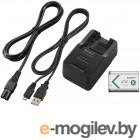 зарядки специальные Sony ACC-TRBX - зарядное устройство BC-TRX, аккумулятор NP-BX1, кабель microUSB
