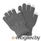 теплые перчатки для сенсорных дисплеев iGlover Classic Grey