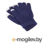 теплые перчатки для сенсорных дисплеев iGlover Classic Blue