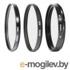 светофильтры для видеокамер HOYA Digital Filter Kit HMC MULTI UV, Circular-PL, NDX8 - 40.5mm - набор светофильтров 79496