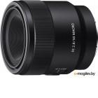 объективы для Sony NEX и видео Sony SEL50M28 FE 50 mm f/2.8 Macro E-mount