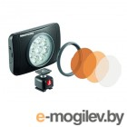Лампа Manfrotto LUMIE SERIES MUSE LED LIGHT & ACCESSORIES (MLUMIEMU-BK)