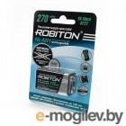 аккумуляторы КРОНА Robiton 270 mAh RTU270MH-1 BL1 13187