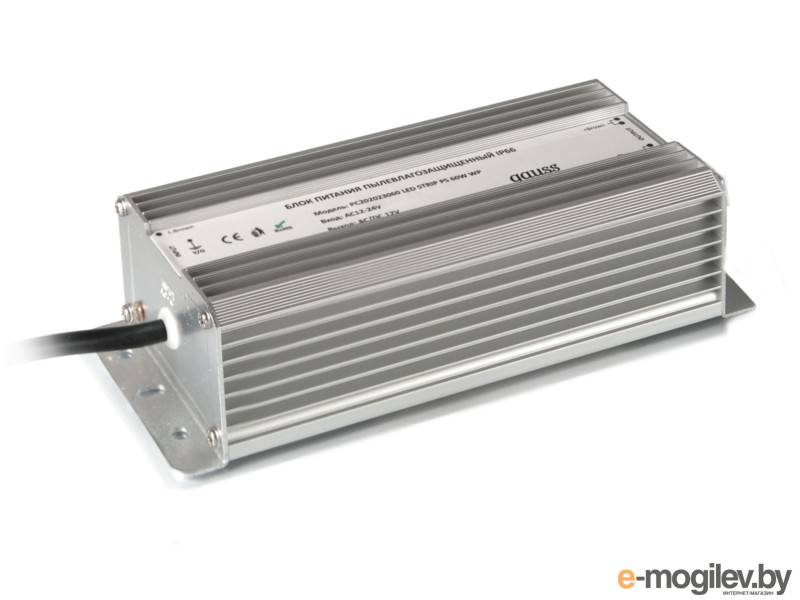 Gauss 60W 12V IP67 PC202023060