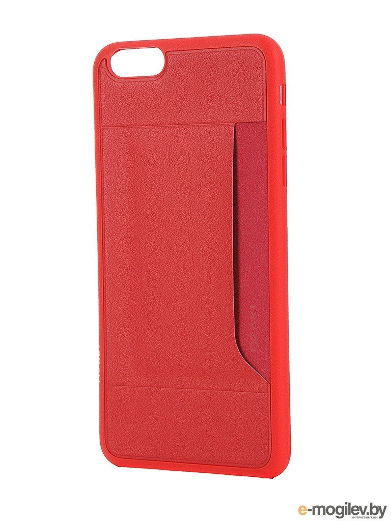Чехол Ozaki 0.4  Pocket для iPhone 6 Plus / 6S Plus OC597RD Red