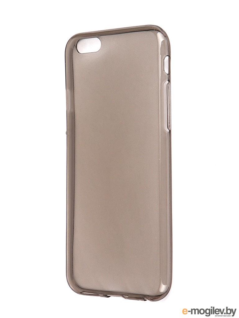 Чехол Krutoff для iPhone 6 Transparent-Black 10675