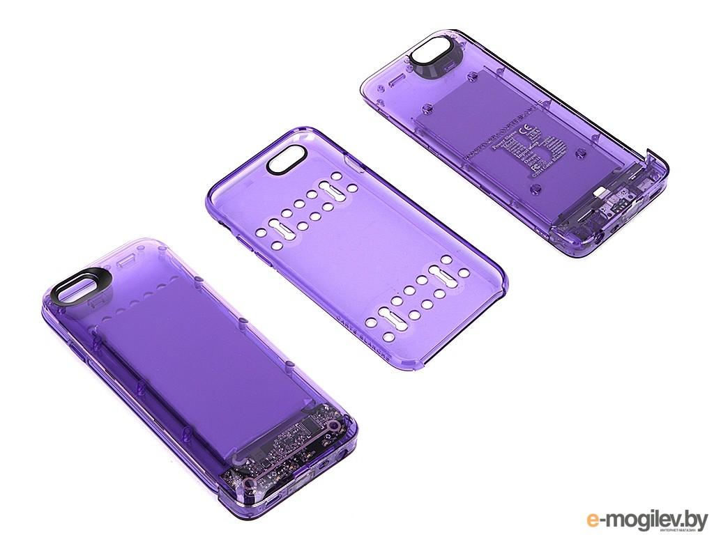 Чехол-аккумулятор Boostcase 2700 mAh для iPhone 6 / 6S Transparent Violet BCH2700IP6-AMT