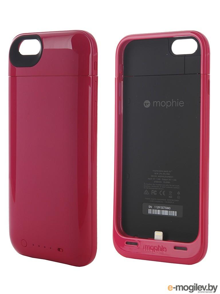 Чехол-аккумулятор Mophie Juice Pack Air для iPhone 6 Pink 2750 mAh 3382