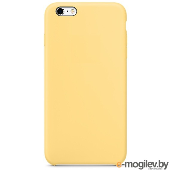 Чехол APPLE iPhone 6S Plus Silicone Case Yellow MM6H2ZM/A