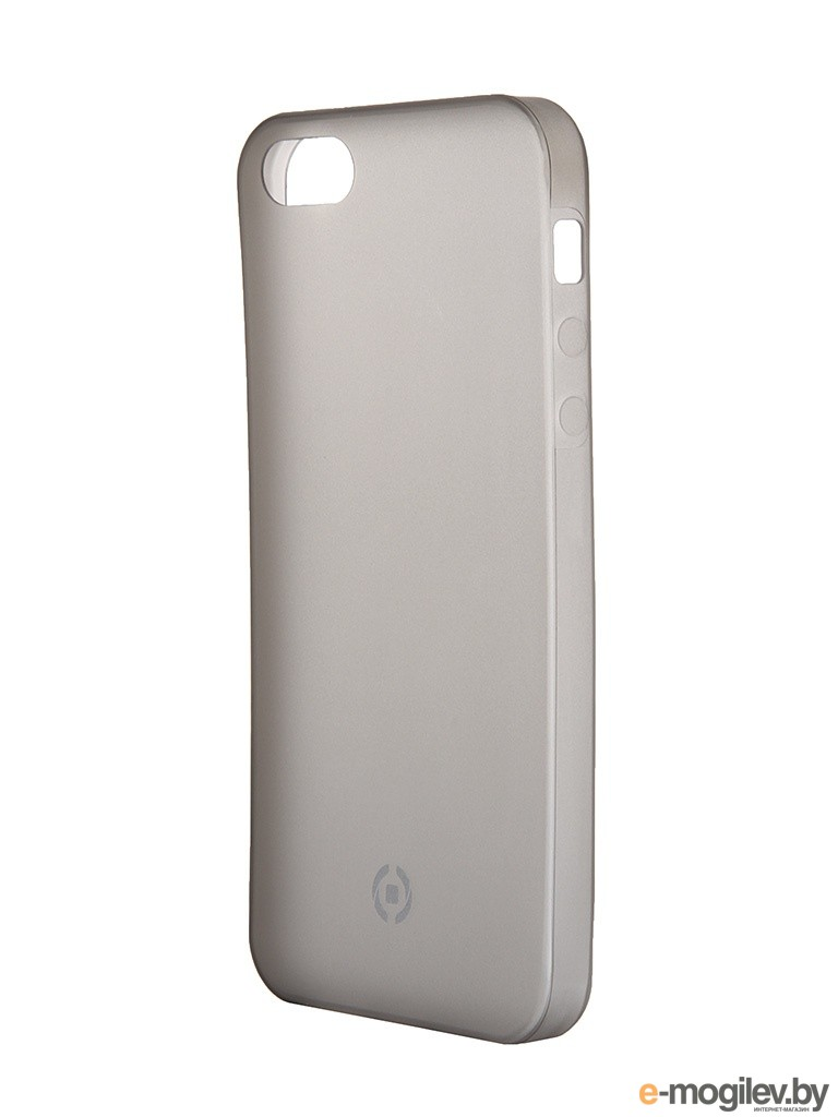 Чехол Celly Frost для APPLE iPhone 5/5S/SE Grey FROSTIPH5BK