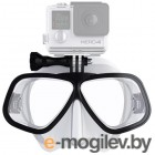 Octomask Freediver Black Clear OFRB302