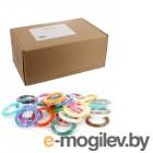 принадлежности для 3D-принтеров и 3D-ручек Spider Box PLA 16 цветов по 20 метров