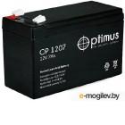 Аккумулятор для ИБП Optimus OP 1207 (12В/7 А·ч)