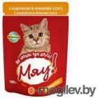 Мяу ! 100г (пауч) корм для взр кошек С индейкой в нежном соусе