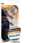 Philips Vision <12844B2> Лампа автомобильная, уп.2 шт.  (C5W, 5W,  12V)