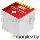 Блок для записей в пласт.подставке, 90х90х90мм, BASIC, белый, офсет, пл. 60 г/м2, бел. 88-90%