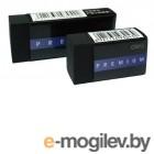 Ластик Deli Premium E3042 60x24x12мм черный индивидуальная картонная упаковка