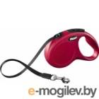 Поводок-рулетка Flexi New Classic L 8m ремень красный