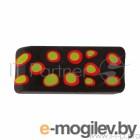 Ластик из синтетического каучука 181108 ПЛАСТИЛИНОВАЯ КОЛЛ, индивид.штрихкод, разноцветный, карт дис