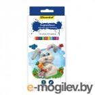 Карандаши цветные Silwerhof Серия 1 Animals 134194-24 24цв. коробка/европод. (12шт)