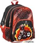 Рюкзак Hama Motorbike (черный/красный)