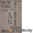 Devos Caby Magnat 20224 160x230, Нью-Йорк/серебро
