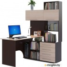 Сокол-Мебель КСТ-14 правый, венге/беленый дуб