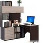 Сокол-Мебель КСТ-14 левый, венге/беленый