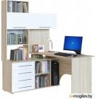 Сокол-Мебель КСТ-14 левый, дуб сонома/белый